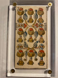 """9 of Cups"" - Authentic 18th Century Tarot Single"