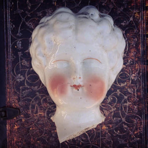 OLIVIA'S HEAD (1860s China Doll Piece)