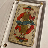 """The Magician""-Authentic Antique Tarot Card 1930"