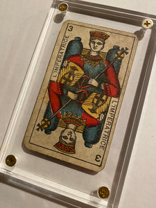 """The Empress ""-Authentic Antique Tarot Card 1930"