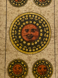 """5 of Coins""-Authentic Antique Tarot Card 1920.  G. Cassini  Brescia"