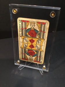 "'The Chariot""-Authentic Antique Tarot Card 1930"