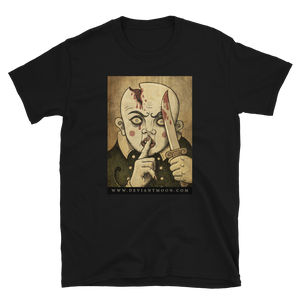 """HUSH!"" Abandoned Oracle Short-Sleeve Unisex T-Shirt"