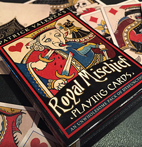 Royal Mischief Playing Cards- FIRST EDITION-OOP