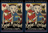 2 for 22 Sale! Royal Mischief Playing Cards