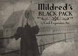 MILDRED'S BLACK PACK-15 Card EXPANSION ORIGINAL Mini Sized cards