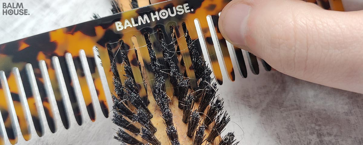 Remove Hair From Beard Brush