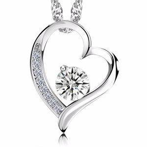Diamond Jewel Heart Pendant