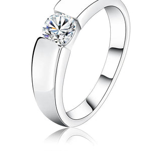 Single Diamond Ring