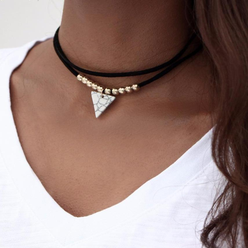 Stone Layer Choker