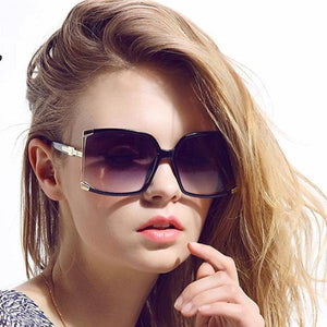 Big Frame Square Sunglasses