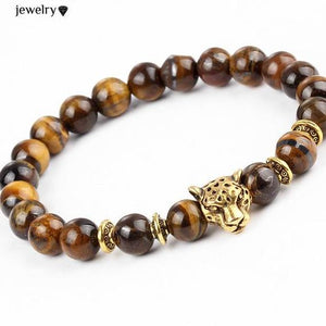 Onyx And Tiger Eye Leopard