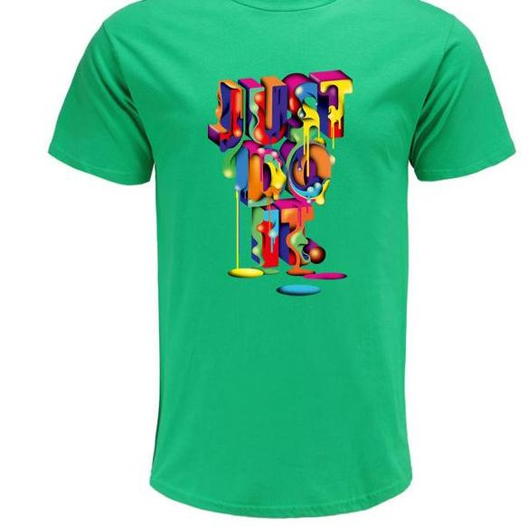 Just Do It Print T Shirt