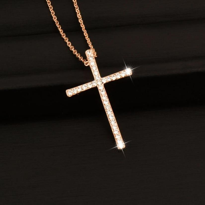 Rhinestone Cross
