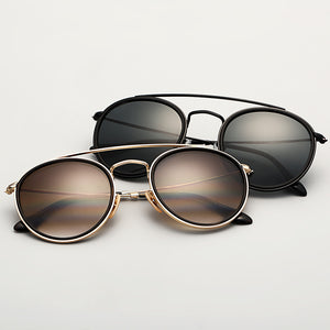 Classic Round  Look Sunglasses