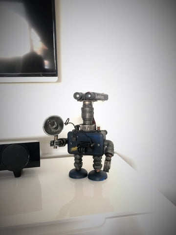 SpyBot in his new home