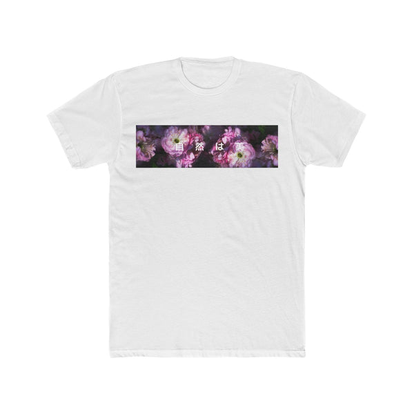 "Pink - ""Nature is Beauty"" - Crew Tee"
