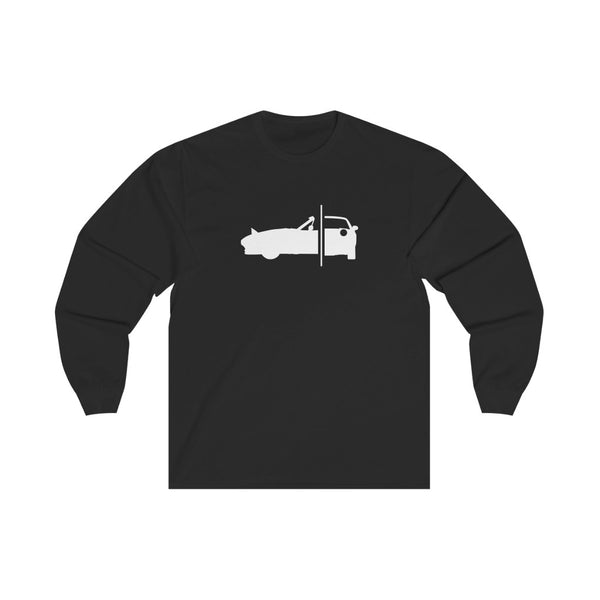 Miata NA - B/W - Long Sleeve