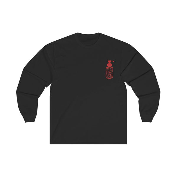 Wash Your Damn Hands (Red) - Long Sleeve