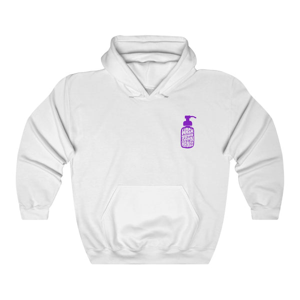 Wash Your Damn Hands (Purple) - Hoodie