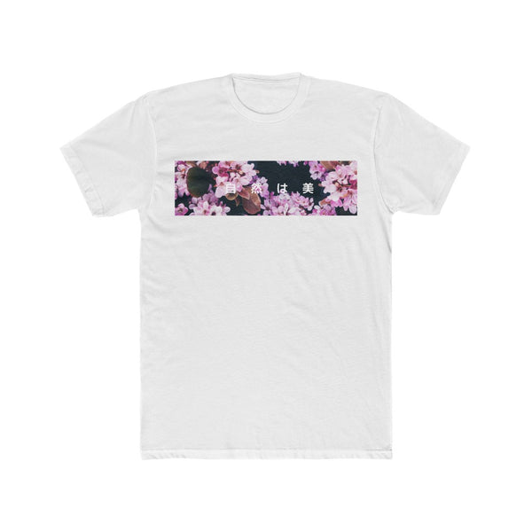"Cherry Blossom - ""Nature is Beauty"" - Crew Tee"