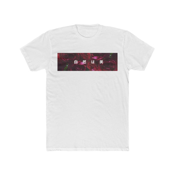 "Rose - ""Nature is Beauty"" - Crew Tee"