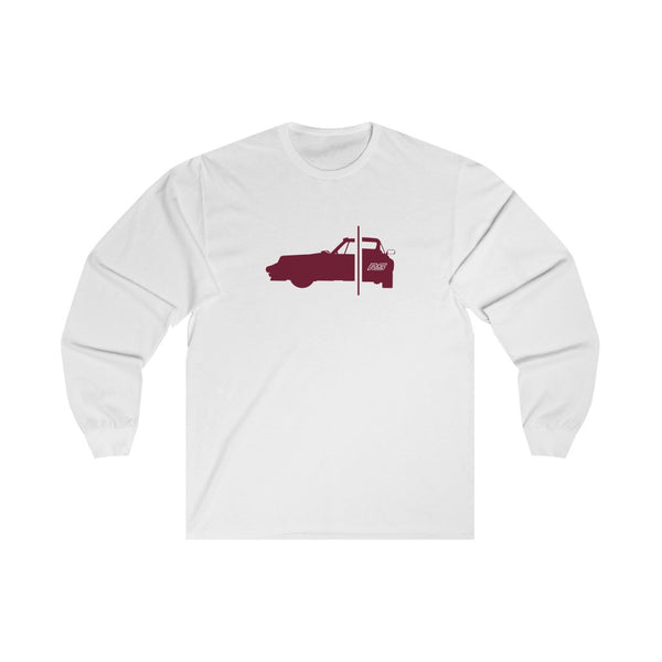 911 RS - Burgundy Red - Long Sleeve