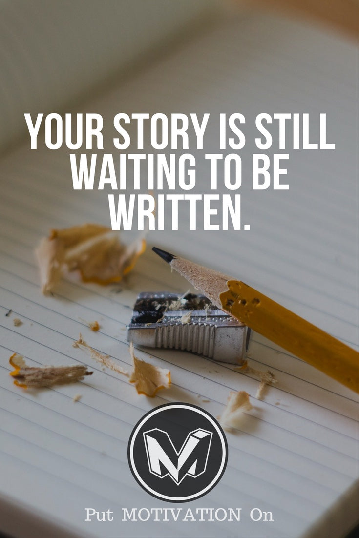 Your story is waiting