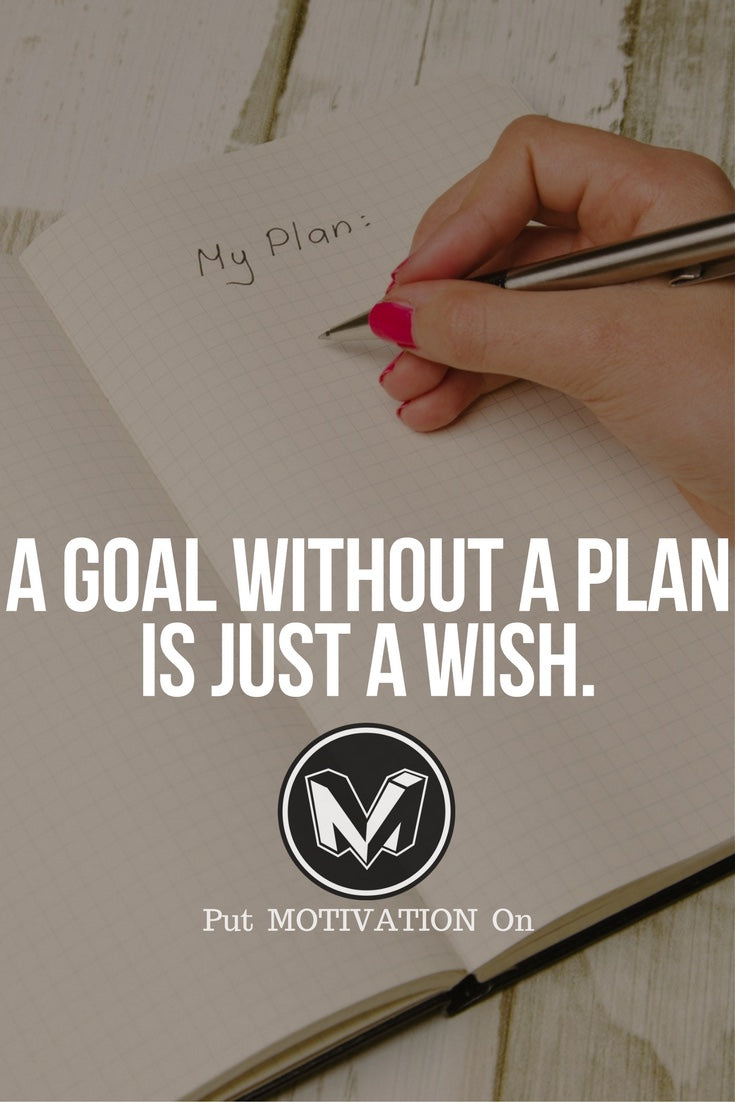 Plan your goal