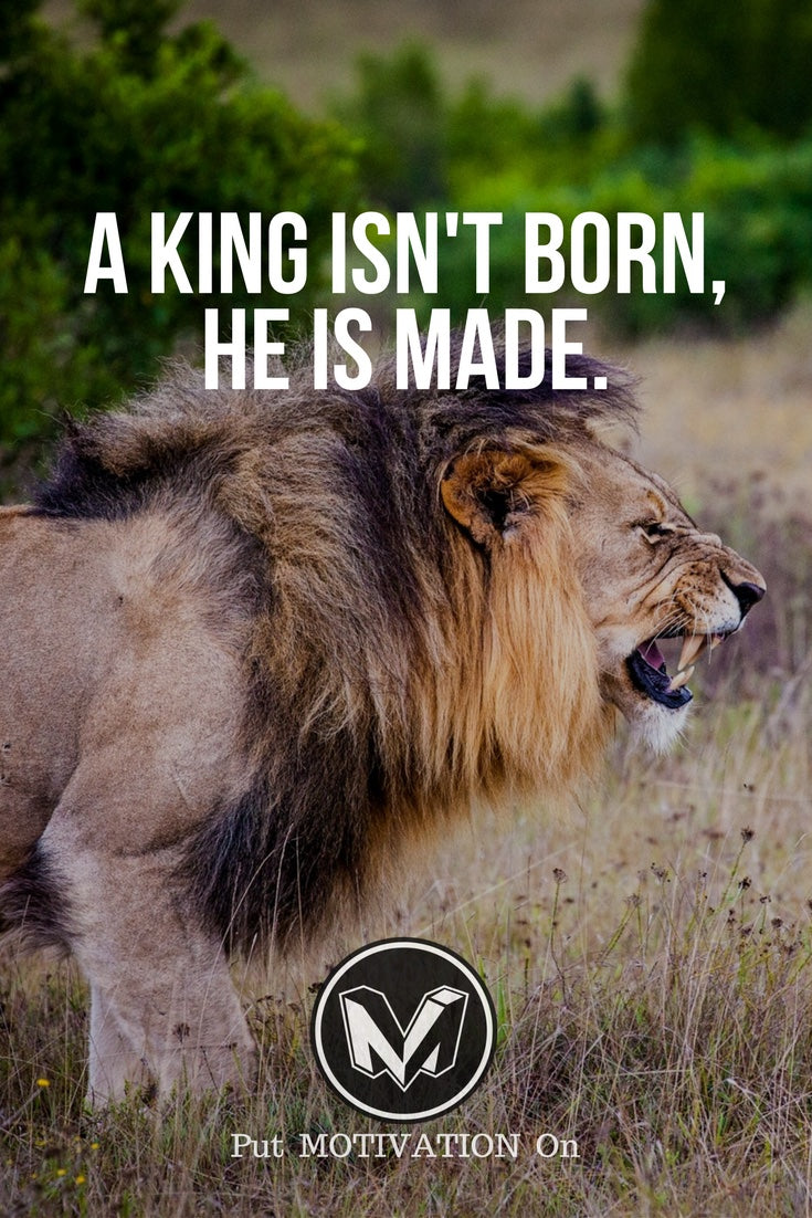 King is made