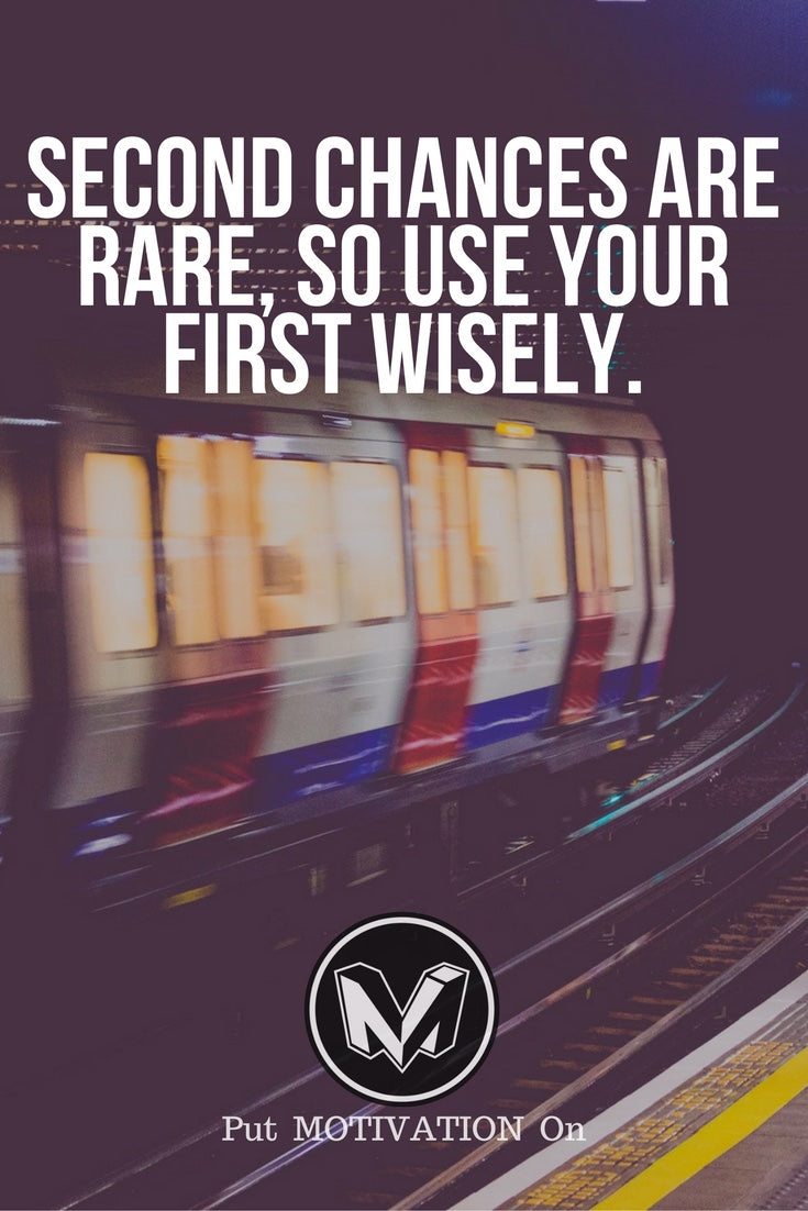 Use your first wisely
