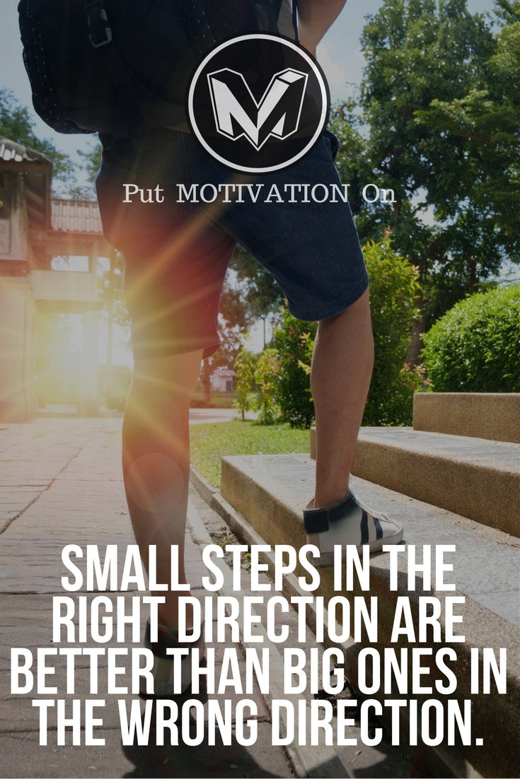 Small steps in the right direction