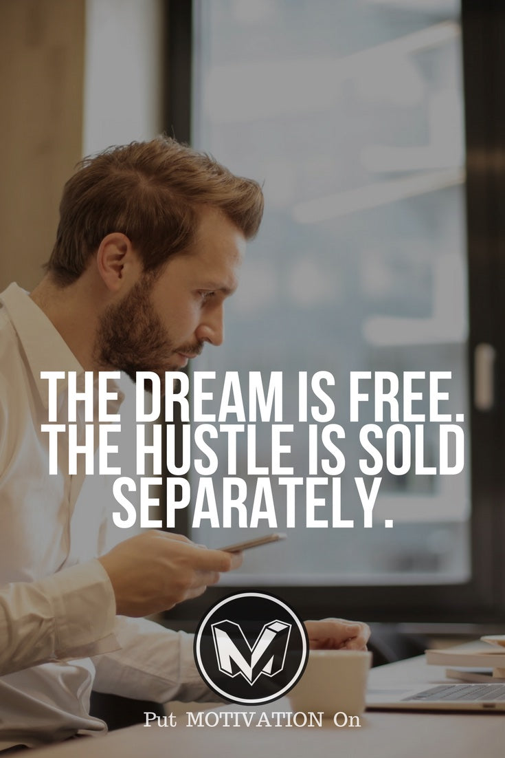 The hustle sold separately