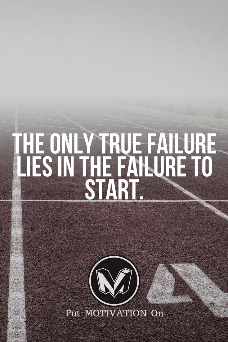 Failure to start is the only true failure