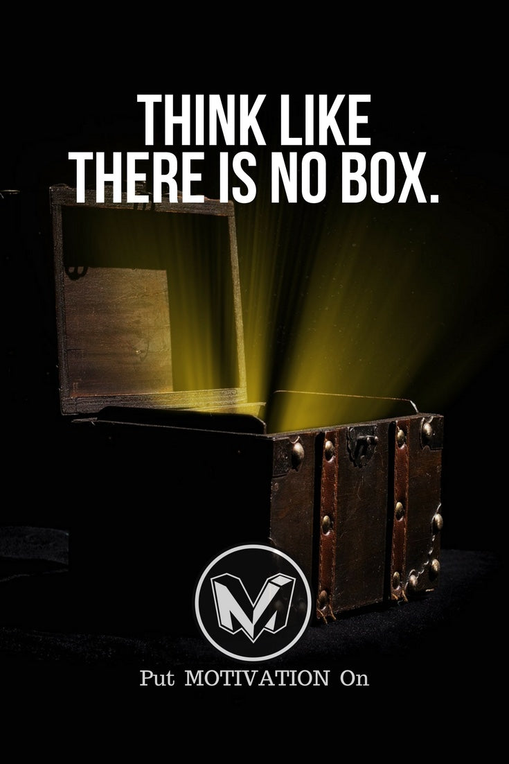 There is no box