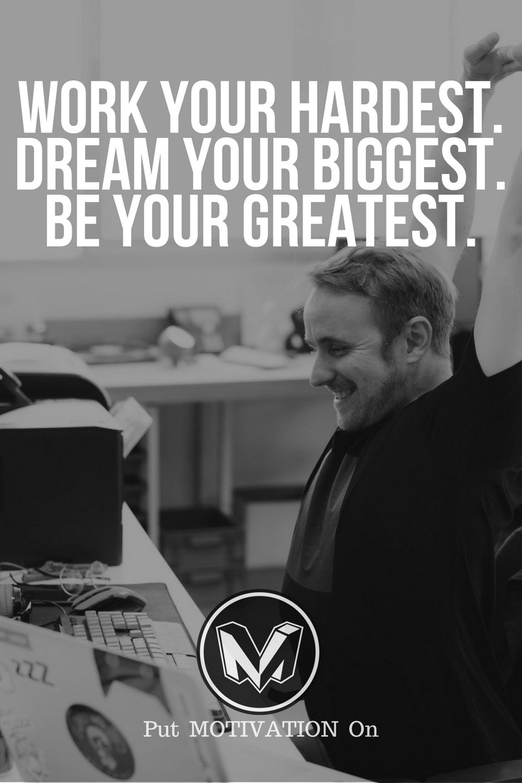 Be your greatest