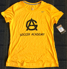 Nike Yellow S/S Shirt (Women's)