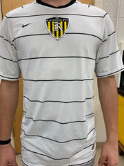 Grey Practice Jersey with Horizontal Stripes