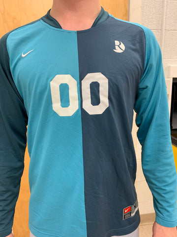 Two-Tone Blue GK Jersey