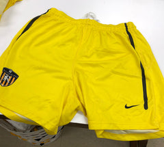 Yellow Game Shorts