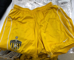 Yellow Training Shorts