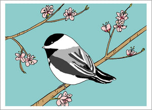 Chickadee Card