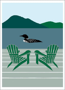 Loon on a Lake