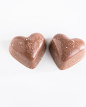 Blood Orange Caramel Heart Bon Bon
