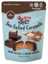 Non GMO Dark Chocolate Sea Salted Caramels
