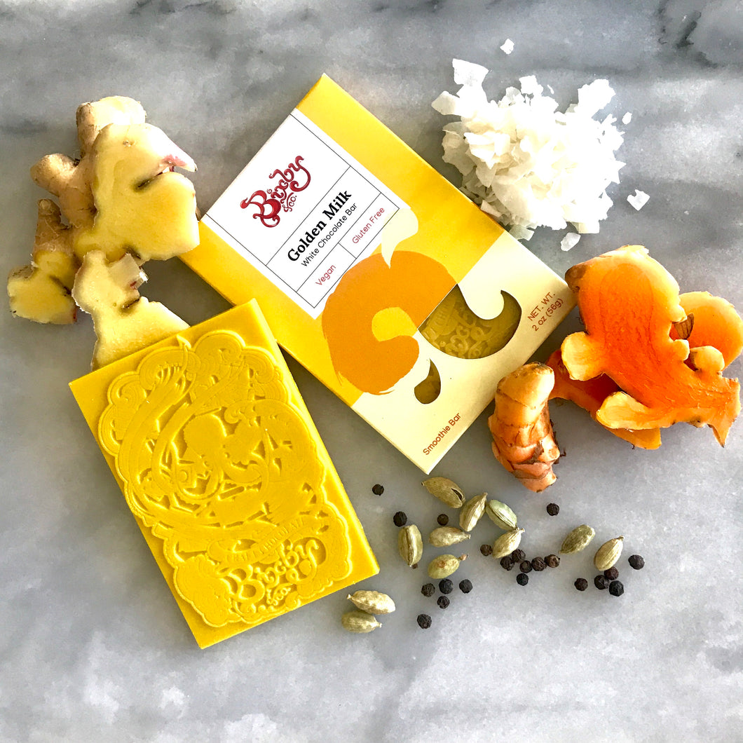 Golden Milk White Chocolate Bar