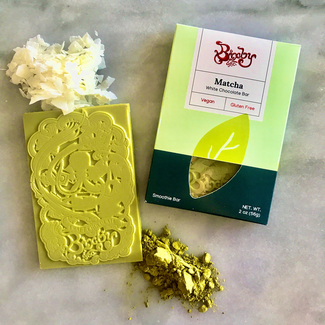 Matcha Vegan White Chocolate Bar
