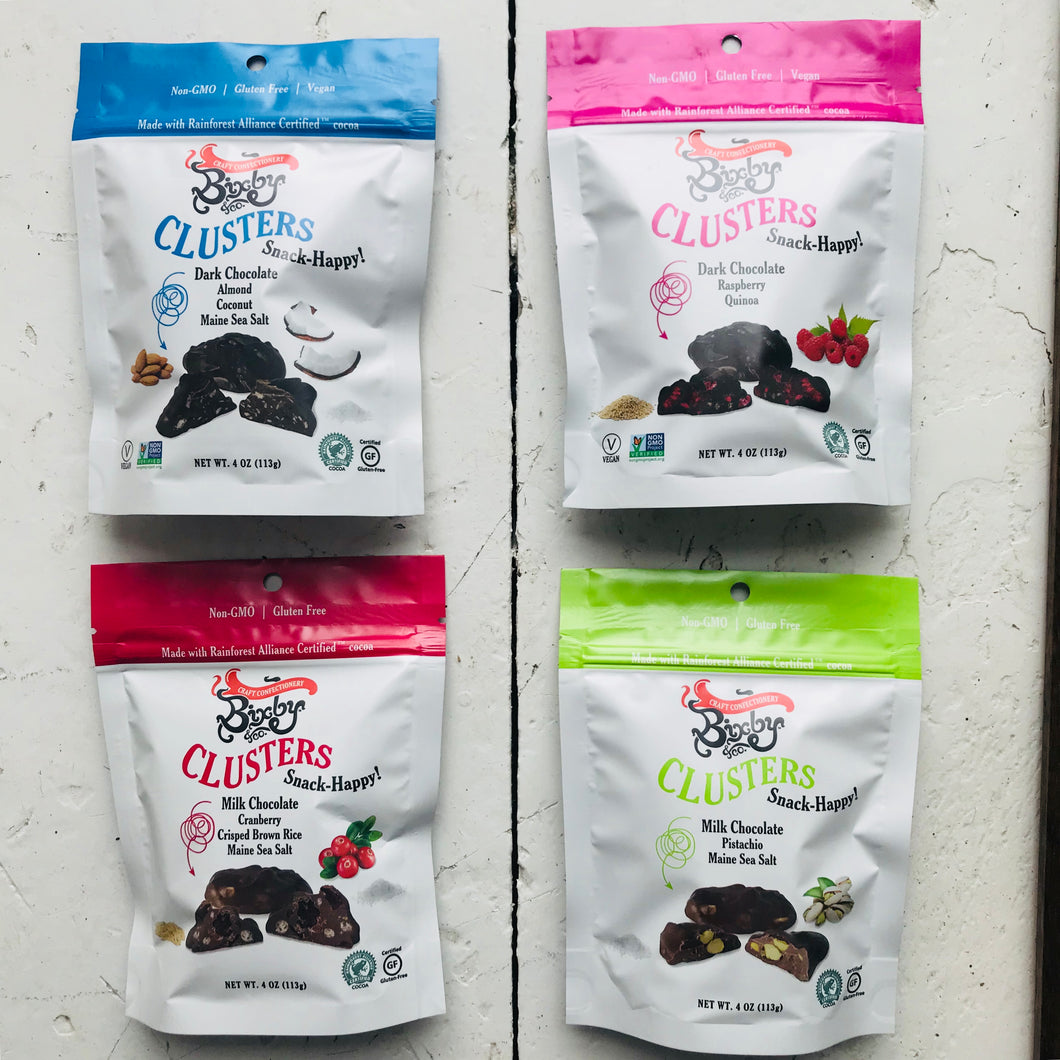 Assorted Bixby Snacking Clusters