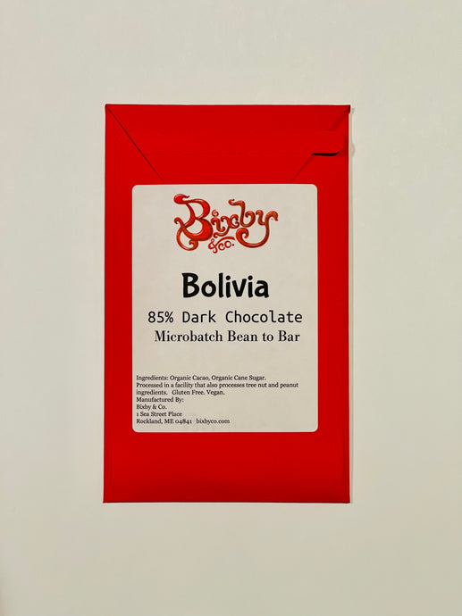 Bolivia 85% Dark Chocolate Bar