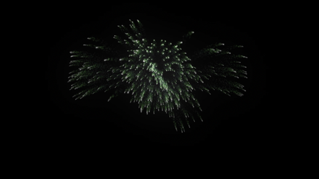 Firework Green Bang